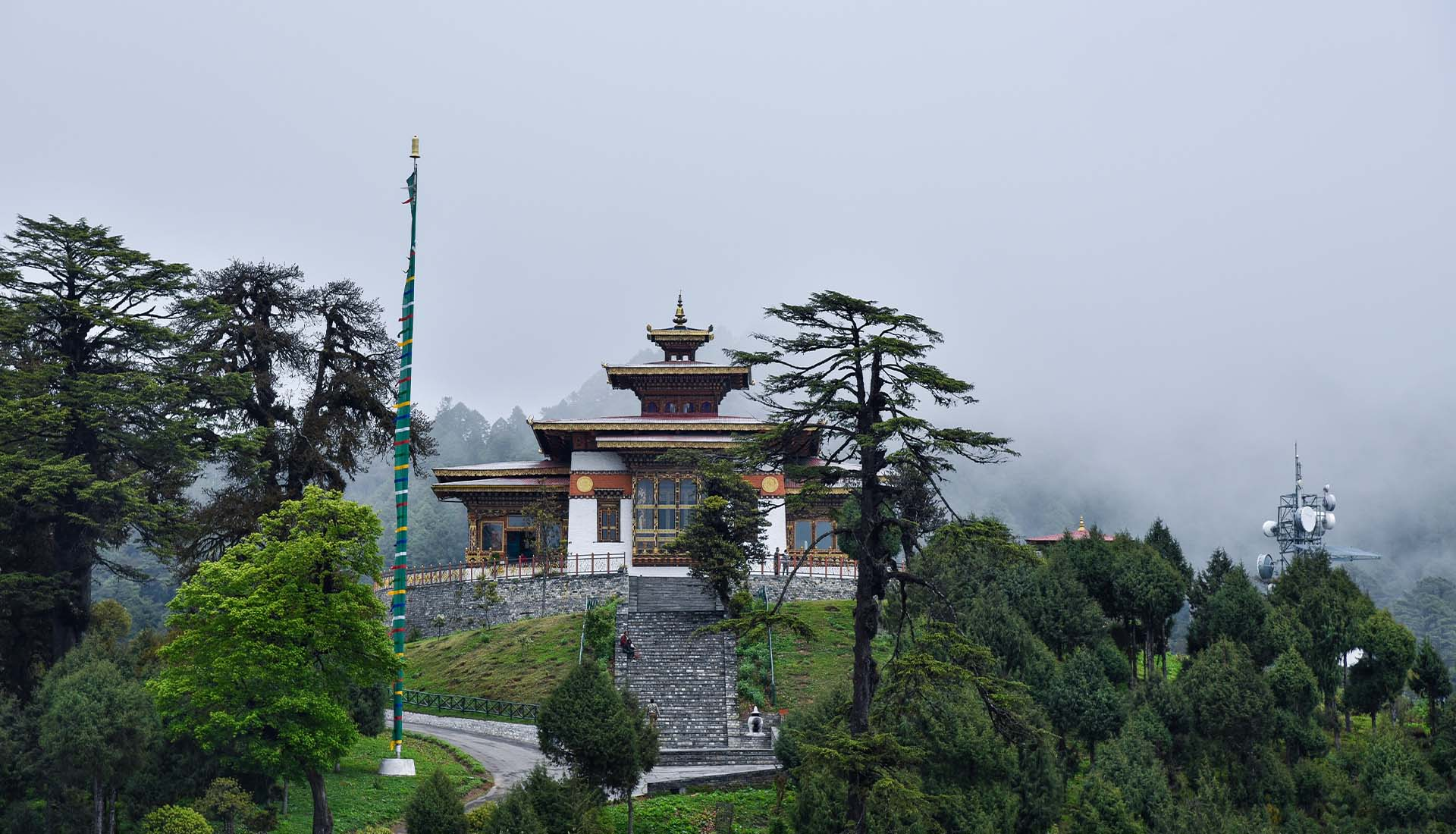 Exotic Bhutan Tour with Sikkim Banner